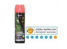 Краска флуоресцентная для маркировки леса BIODUR Forest marking spray red (красная) аер. 500мл